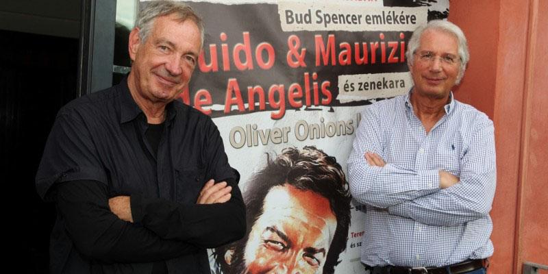 Oliver Onions insieme per un omaggio a Bud Spencer
