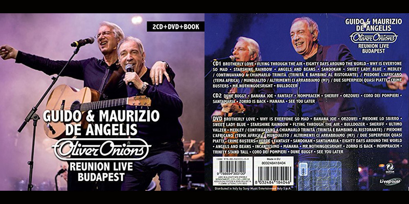 "Cofanetto ""Reunion Live Budapest"" da oggi nei negozi"